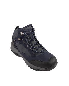 Ascord Lace Boot In Navy