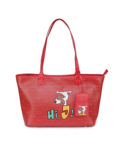 Emo Tote L In Red