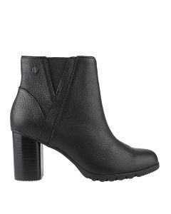Spaniel Ankle Boot In Black Leather