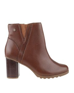 Spaniel Ankle Boot In Dachshund Leather