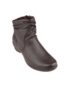 Arabell Mid Boot In Dark Brown