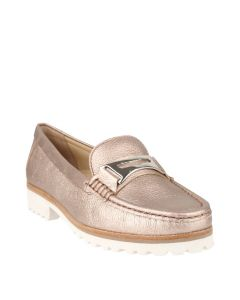Estrela Penny In Gold Leather