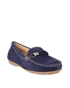 Renita In Royal Navy Nubuck