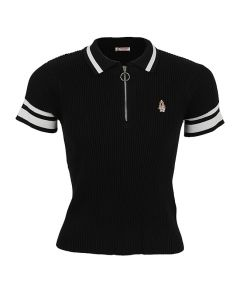 Ezra - Polo Shirt In Black