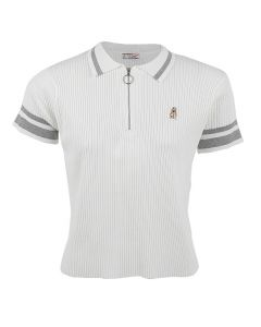 Ezra - Polo Shirt In White