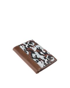 Jungle Passport Holder In Grey