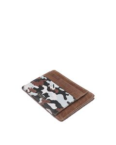 Jungle Credit Card Holder In Grey